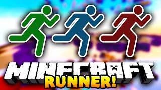 Minecraft RUNNER! (Funny Minigame) #1 - w/ PrestonPlayz & Choco