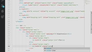 CSS3 FlexBox - Website From Scratch - Navbar