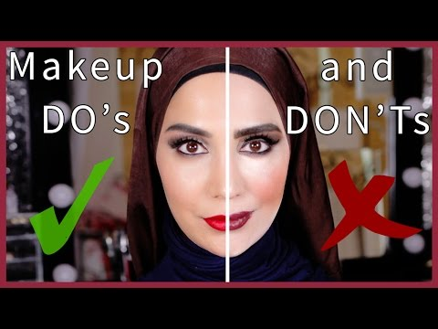 MAKEUP MISTAKES TO AVOID - THE DO's AND DON'Ts! | Amena