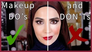 MAKEUP MISTAKES TO AVOID - THE DO
