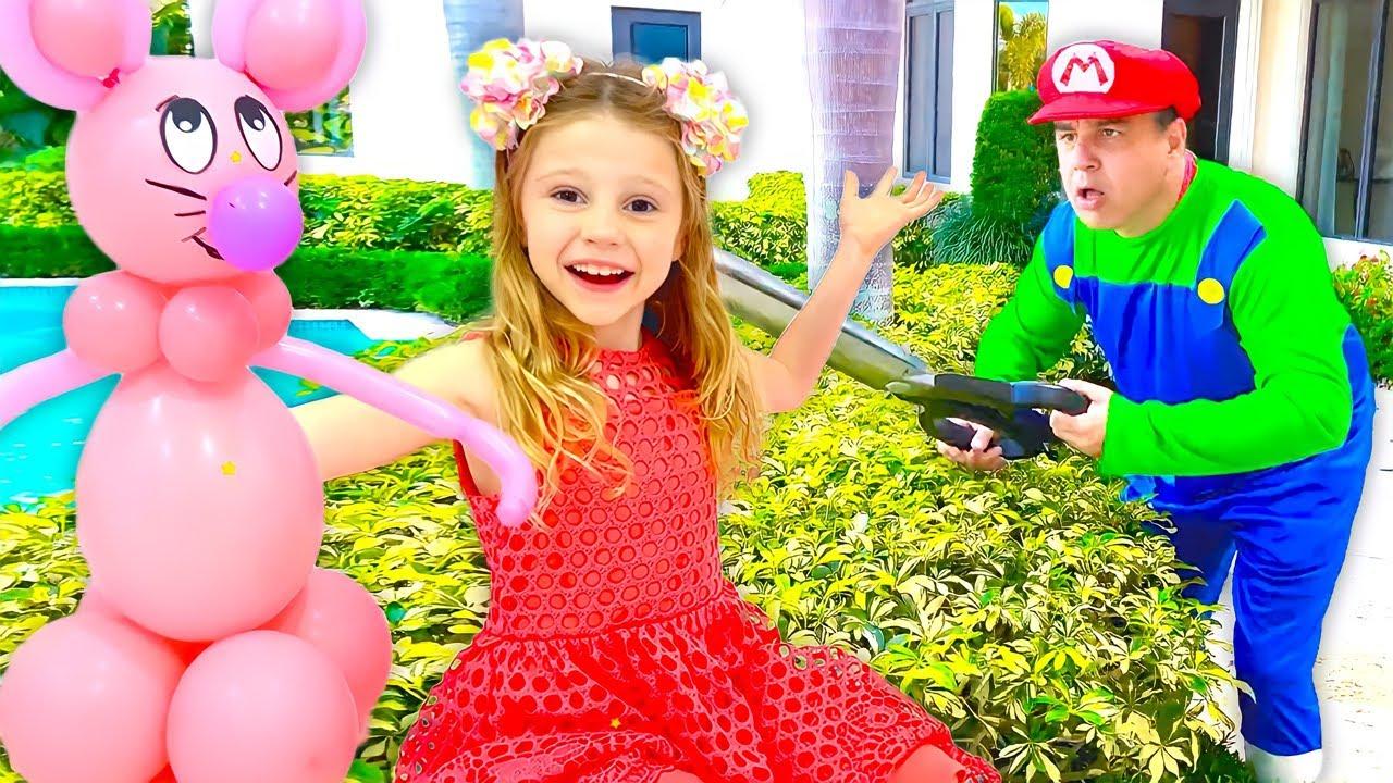 Nastya pretende ser la bloguera infantil más popular del mundo