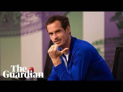 Andy Murray's press conference interrupted...