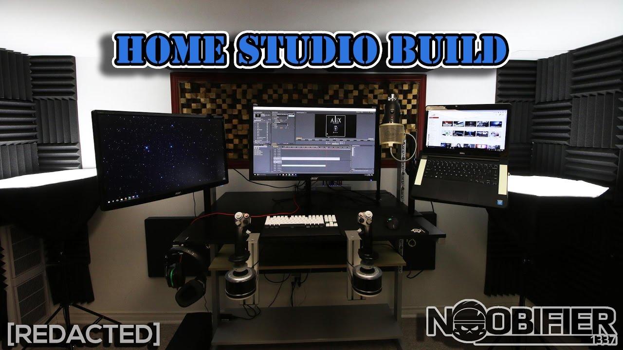 How To Build - DIY - Home Studio