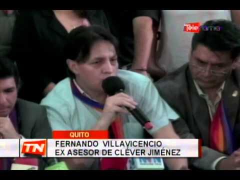 Jiménez y Villavicencio reaparecen tras exilio