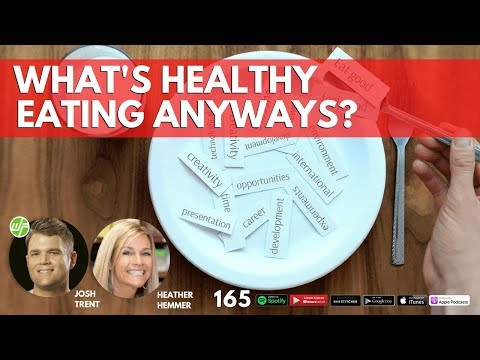 165 Heather Hemmer: What's Healthy Eating Anyways?
