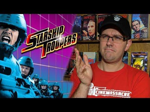 Starship Troopers (1997) Cinemassacre Rental Reviews