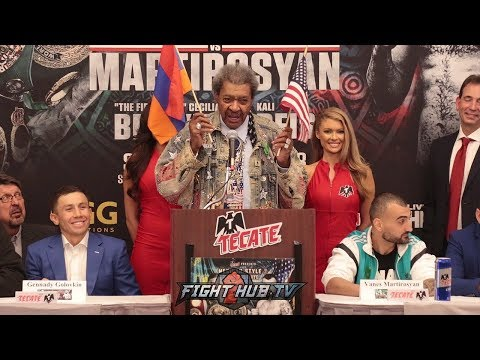 DON KING GOES CRAZY RANT ABOUT GGG BEING A CHAMPION OF LOSERS, TRUMP, & NORTH KOREA
