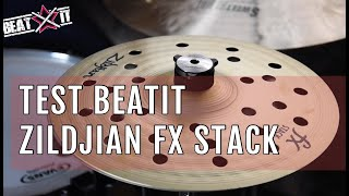 """BeatIt Test: 8"""" Zildjian FX Stack"""