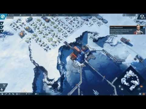 ANNO 2205 Gameplay Part 5 - Artic Region and Trade Routes - Max Settings Geforce 970