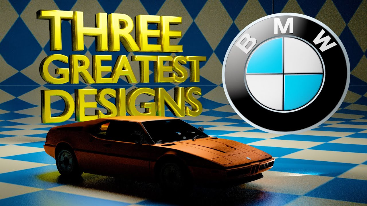 BMW's THREE GREATEST DESIGNS & how their recent designs have lost their way!
