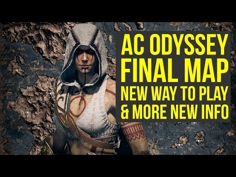 Assassin's Creed Odyssey Map FINAL VERSION, First Arena Info & More! (AC Odyssey Gameplay) thumbnail