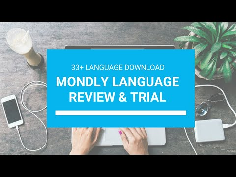 Mondly Language Review and  33+ Language  Free Trial | Download Mondly Free.