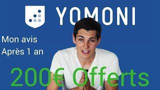 YOMONI : Mon avis (épargne en ligne) après 1 AN + Code promo