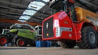 Lohnunternehmen Reiff: Eine der modernsten Lohner-Werkstätten Europas