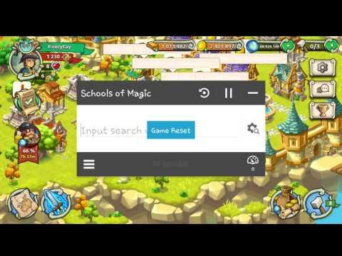 Shools of Magic LVL Hack [ROOT]