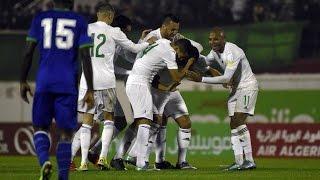 أهداف مباراة الجزائر و تنزانيا 7-0 بتعليق حفيظ الدراجي ( تصفيات مونديال 2018) HD