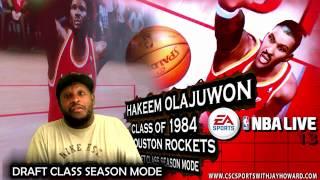 NBA LIVE 13 DRAFT CLASS MODE