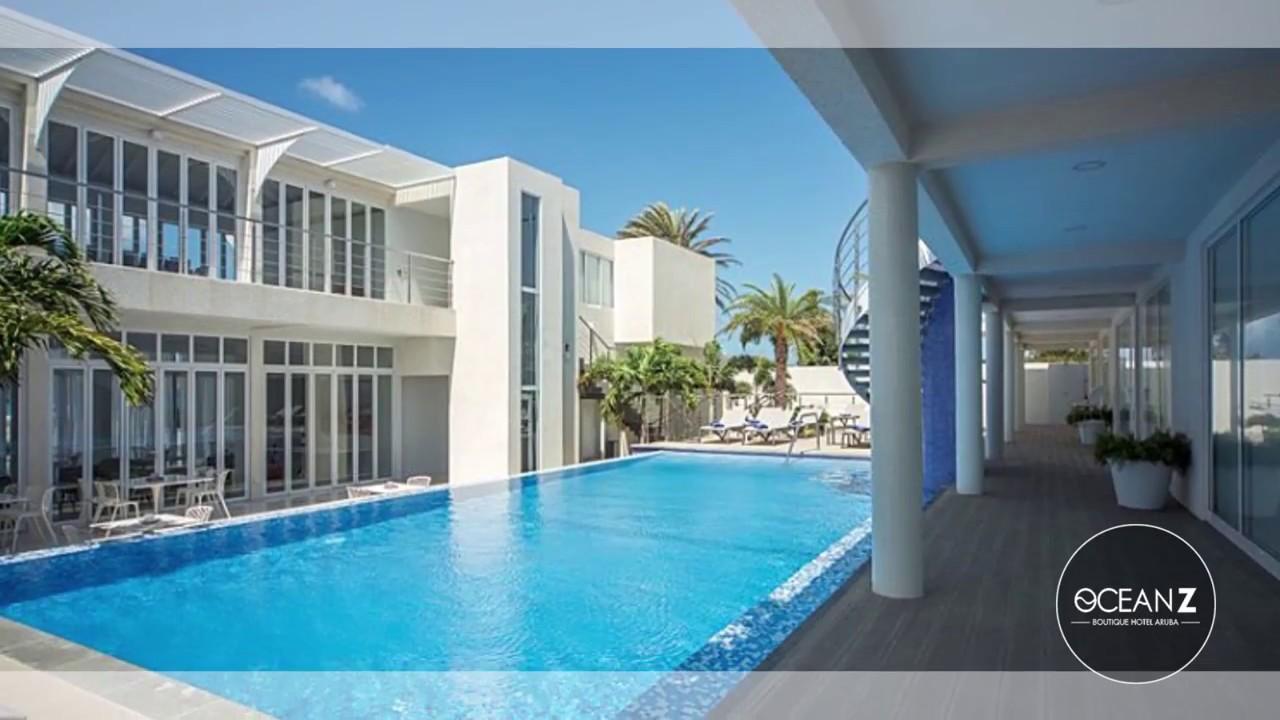 Aruba boutique hotels ocean z boutique hotel aruba youtube for Boutique resort