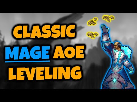 Classic Mage Aoe Leveling Guide Part 1 of 2
