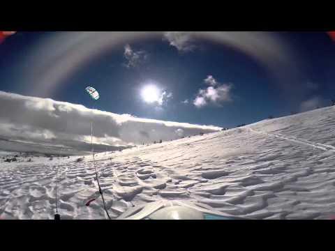 Snowkite 2014 - Mont-Lozère