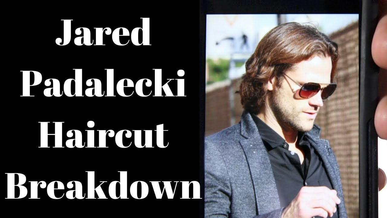 jared padalecki haircut breakdown - how to cut medium length layered men's hair - thesalonguy
