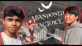 Abandoned factory montage