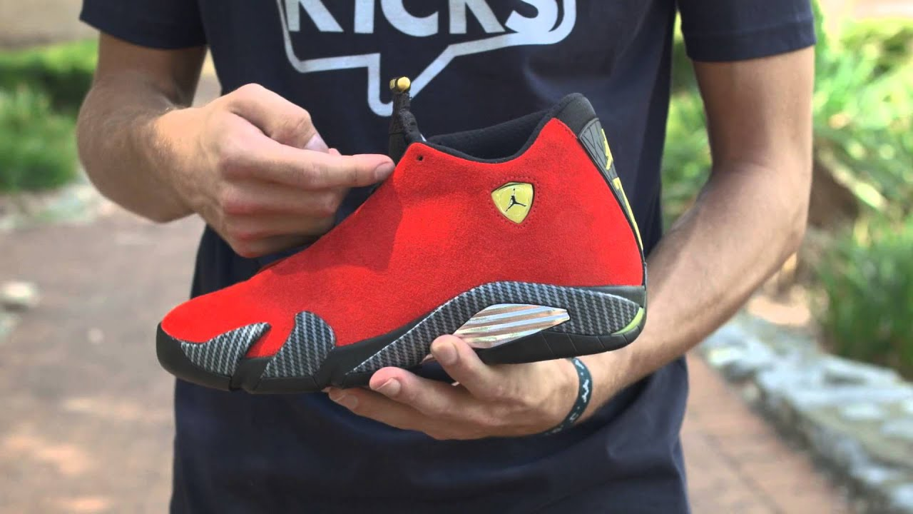 Unbox Therapy; Air Jordan 14