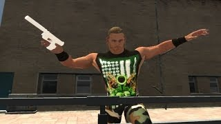 GRAND THEFT AUTO IV: Shawn Michaels DX + Walther P99
