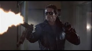 The Terminator (1984)- Police Station Massacre Scene with T2 Score