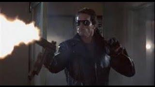 The Terminator (1984)- Police Station Massacre Scene with T2 Score