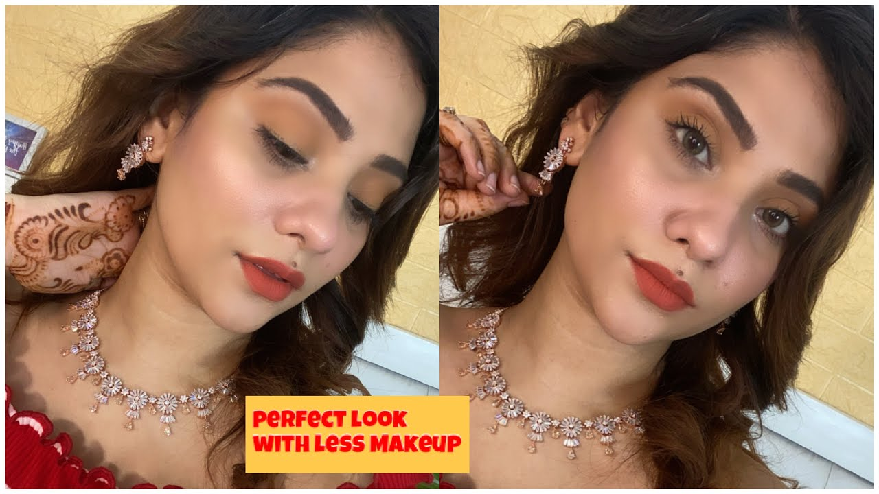 Perfect  Look with less Makeup || shystyles