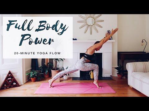 FULL BODY POWER YOGA   20-Minute Flow   CAT MEFFAN