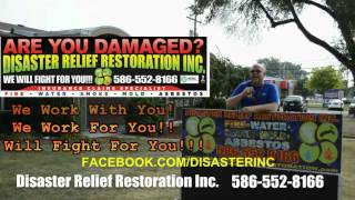 Disaster Relief Restoration Inc    Reality Tv Show   Are you Damaged   PROMO 3
