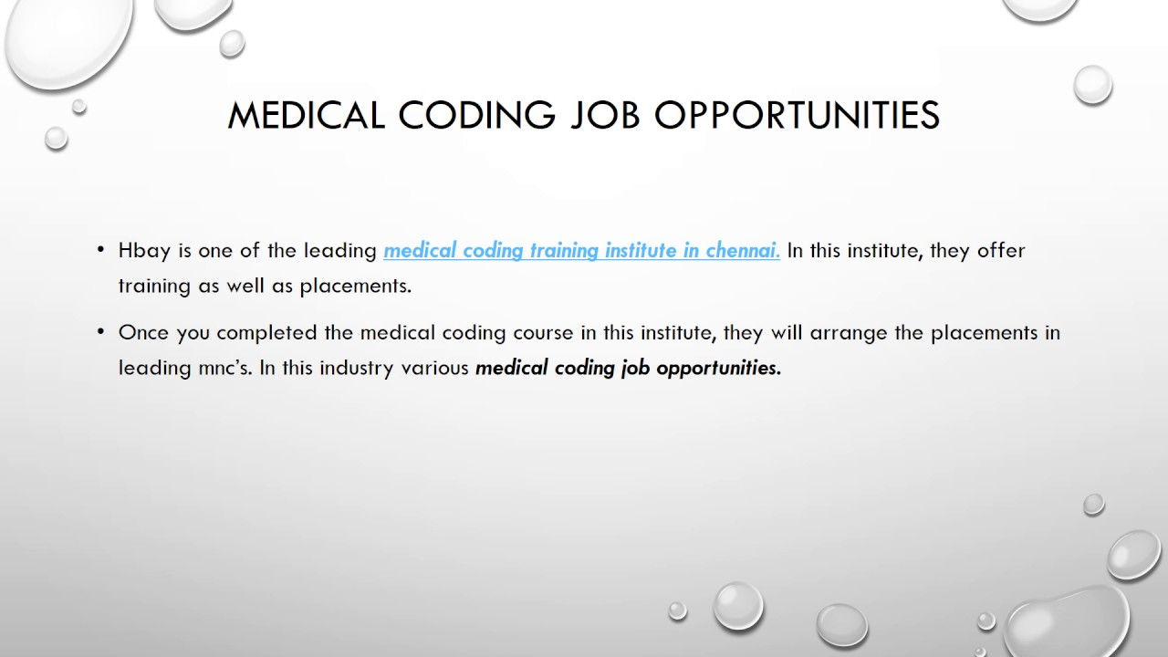 Medical Coding Jobs In Chennai