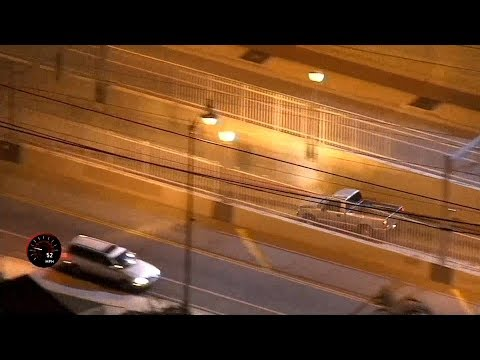 News reporter teases suspect after L.A. police chase ends in subway tunnel