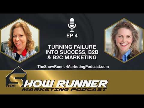 Ep. 4 - Turning Failure into Success, B2B & B2C Marketing with Megan Devine
