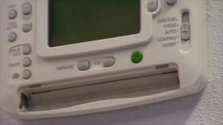 Chronotherm thermostaat demonteren | Honeywell Home
