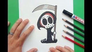 Como dibujar a la muerte paso a paso 2 | How to draw to death 2
