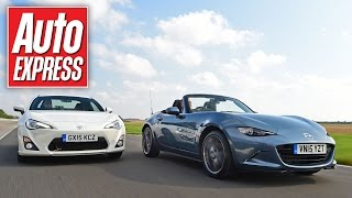 Mazda MX-5 vs Toyota GT86 track battle