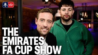 Peter Crouch and Tom Grennan on The Emirates FA Cup Show | Fifth Round Draw | Emirates FA Cup 19/20