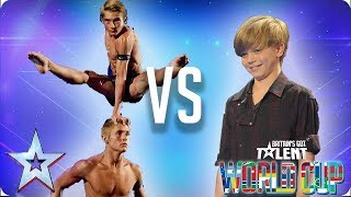 Spelbound vs Ronan Parke | Britain's Got Talent World Cup 2018