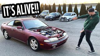 240SX runs and drives for the first time in TEN YEARS.