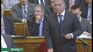 Orbán Viktor rendet rak a fejekben - Echo Tv