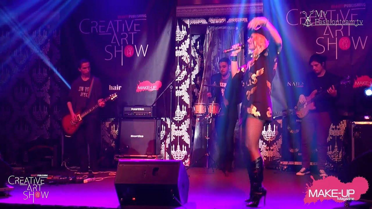Concert live Delia Matache - Creative Show 2014
