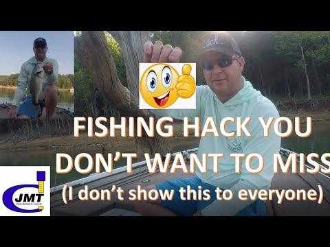Summer Bass Fishing @ Patoka Lake .. A FISHING HACK YOU DON'T WANT TO MISS!!
