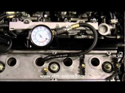 JDM-Online.com - JDM Toyota 4AGE Blacktop Engine Compression Video