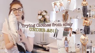 Trying clothing under £5 from eBay! | Haul and Try On