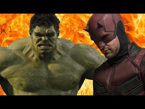 #кинослухи Халк против #Марвел, фанатов выставили дураками и Сорвиголова в #Мстители 5?