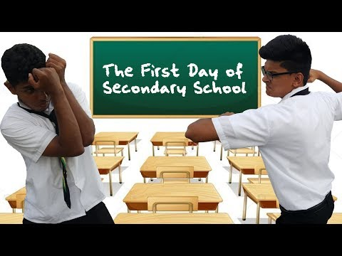 The First Day of Secondary School
