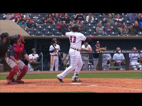 Mud Hens vs Pawtucket Red Sox Highlights (4/12/2018)